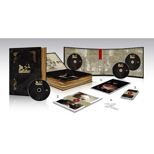 The Godfather Trilogy - Omerta Edition (BLU-RAY)
