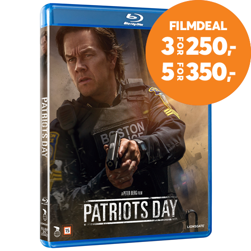 Patriots Day (DK-import) (BLU-RAY)