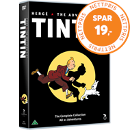Produktbilde for Tintin - The Complete Collection (DK-import) (DVD)