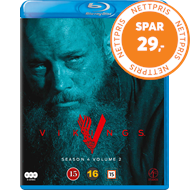 Produktbilde for Vikings - Sesong 4 Del 2 (BLU-RAY)