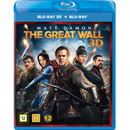 The Great Wall (Blu-ray 3D + Blu-ray)