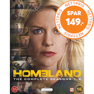 Produktbilde for Homeland - Sesong 1 - 6 (BLU-RAY)