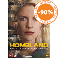 Produktbilde for Homeland - Sesong 1 - 6 (DVD)