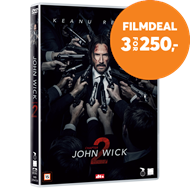Produktbilde for John Wick: Chapter 2 (DVD)