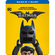 Lego Batman Filmen - Limited Steelbook Edition (Blu-ray 3D + Blu-ray)