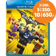 Produktbilde for Lego Batman Filmen (Blu-ray 3D + Blu-ray)