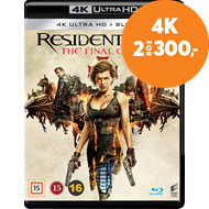 Produktbilde for Resident Evil: The Final Chapter (4K Ultra HD + Blu-ray)