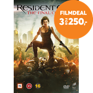 Produktbilde for Resident Evil: The Final Chapter (DVD)