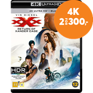 Produktbilde for XXX - The Return Of Xander Cage (4K Ultra HD + Blu-ray)