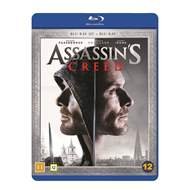 Assassin's Creed (Blu-ray 3D + Blu-ray)
