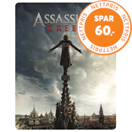 Produktbilde for Assassin's Creed - Limited Steelbook Edition (DK-import) (Blu-ray 3D + Blu-ray)