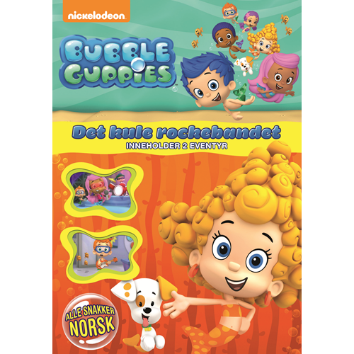 Bubble Guppies 3 - Det Kule Rockebandet (DVD)