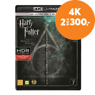Produktbilde for Harry Potter Og Dødstalismanene - Del 2 (8) (4K Ultra HD + Blu-ray)
