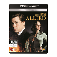 Allied / Allierte (DK-import) (4K Ultra HD + Blu-ray)