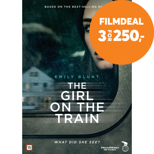 The Girl On The Train (DK-import) (DVD)