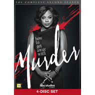 How To Get Away With Murder - Sesong 2 (DVD)