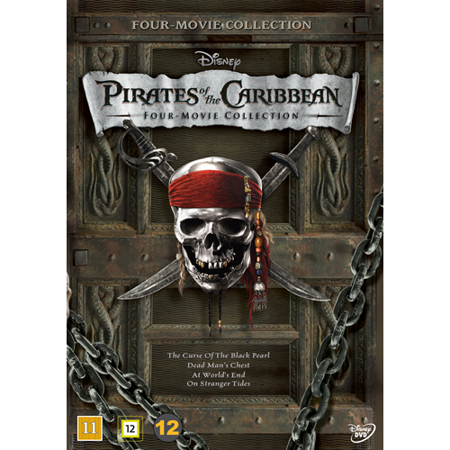 Pirates Of The Caribbean - Four Movie Collection (DVD)