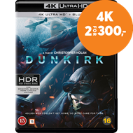 Produktbilde for Dunkirk (4K Ultra HD + Blu-ray)