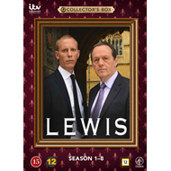 Lewis - Sesong 1 - 8 (DVD)