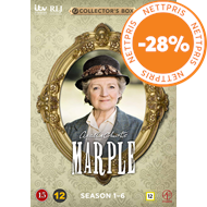 Produktbilde for Miss Marple - Sesong 1 - 6 (DVD)