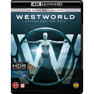 Westworld - Sesong 1 (4K Ultra HD + Blu-ray)