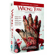 Wrong Turn 1 - 5 Collection (UK-import) (DVD)