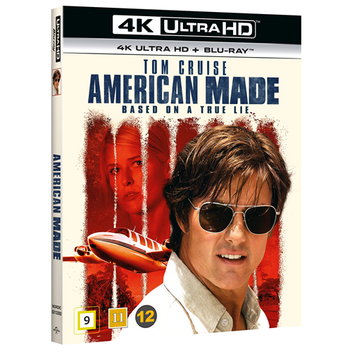 American Made (4K Ultra HD + Blu-ray)