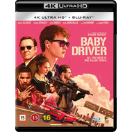 Baby Driver (4K Ultra HD + Blu-ray)