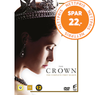 Produktbilde for The Crown - Sesong 1 (DVD)
