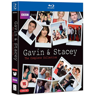 Gavin & Stacey - Sesong 1-3 + Christmas Special (UK-import) (BLU-RAY)