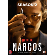Narcos - Sesong 2 (DK-import) (DVD)