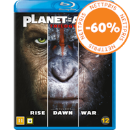 Produktbilde for Planet Of The Apes Trilogy (BLU-RAY)