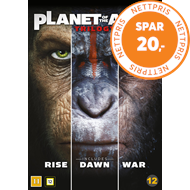 Produktbilde for Planet Of The Apes Trilogy (DVD)