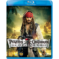 Pirates Of The Caribbean - On Stranger Tides (BLU-RAY)