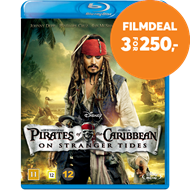 Produktbilde for Pirates Of The Caribbean 4 - On Stranger Tides (BLU-RAY)