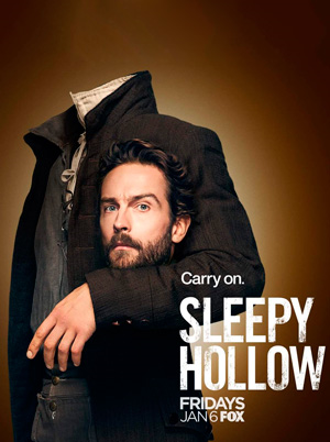Sleepy Hollow - Sesong 1-4 (Complete Collection) (DVD)