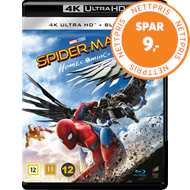 Produktbilde for Spider-Man: Homecoming (4K Ultra HD + Blu-ray)