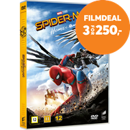 Produktbilde for Spider-Man: Homecoming (DVD)