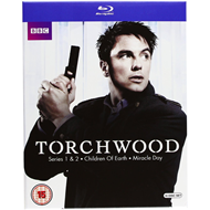 Torchwood - Sesong 1-4 (UK-import) (BLU-RAY)