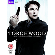 Torchwood - Sesong 1-4 (UK-import) (DVD)