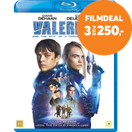 Produktbilde for Valerian And The City Of A Thousand Planets (BLU-RAY)