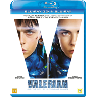 Valerian And The City Of A Thousand Planets (Blu-ray 3D + Blu-ray)