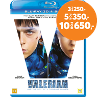 Produktbilde for Valerian And The City Of A Thousand Planets (Blu-ray 3D + Blu-ray)
