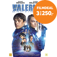 Produktbilde for Valerian And The City Of A Thousand Planets (DVD)