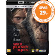 Produktbilde for War For The Planet Of The Apes (4K Ultra HD + Blu-ray)