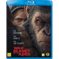 War For The Planet Of The Apes (Blu-ray 3D + Blu-ray)