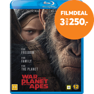 Produktbilde for War For The Planet Of The Apes (Blu-ray 3D + Blu-ray)