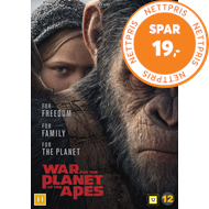 Produktbilde for War For The Planet Of The Apes (DVD)