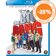 Produktbilde for The Big Bang Theory - Sesong 10 (BLU-RAY)