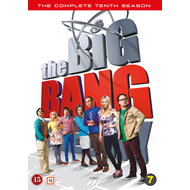 The Big Bang Theory - Sesong 10 (DVD)